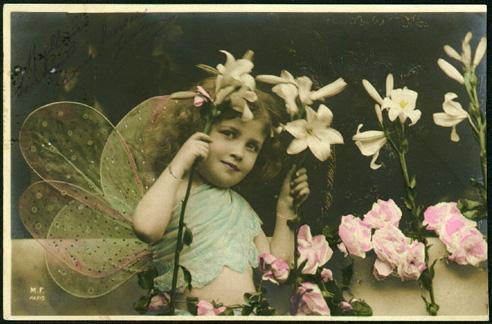 Vintagechildfairywings